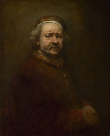 Self Portrait, 1669, Rembrandt, © National Gallery, London