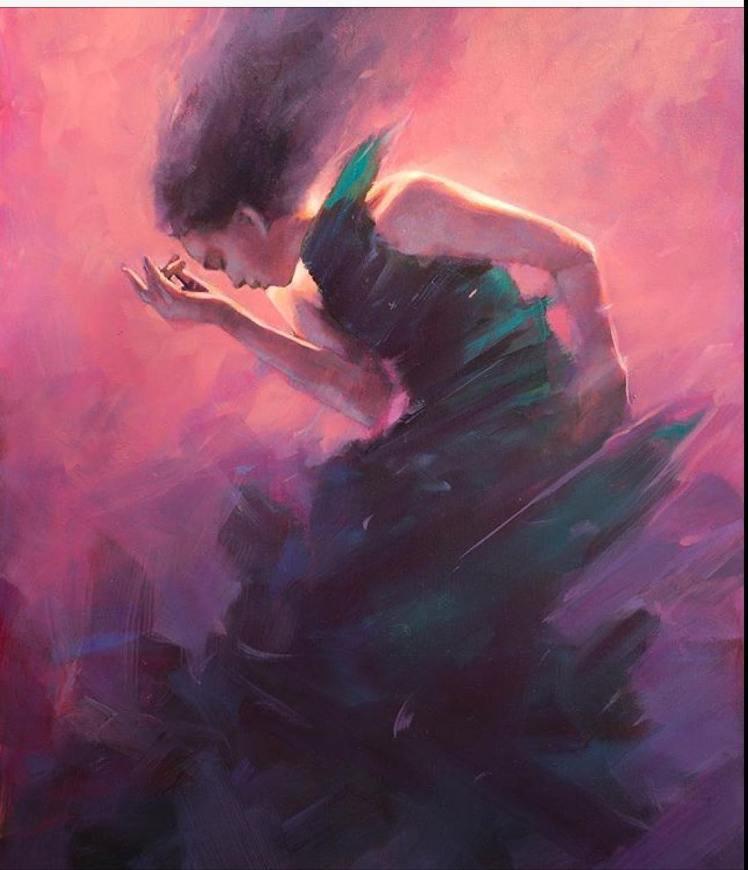 Painting by Jamel Akib