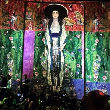 Inside the Atelier des Lumières Gustav Klimt exhibition