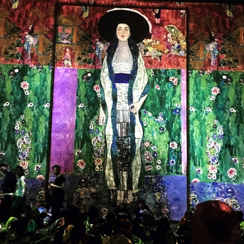 Inside the Atelier des Lumières Gustav Klimt exhibition