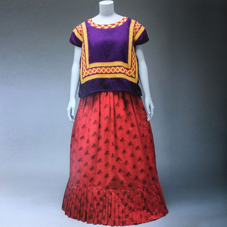 Frida Kahlo's Tehuana dress