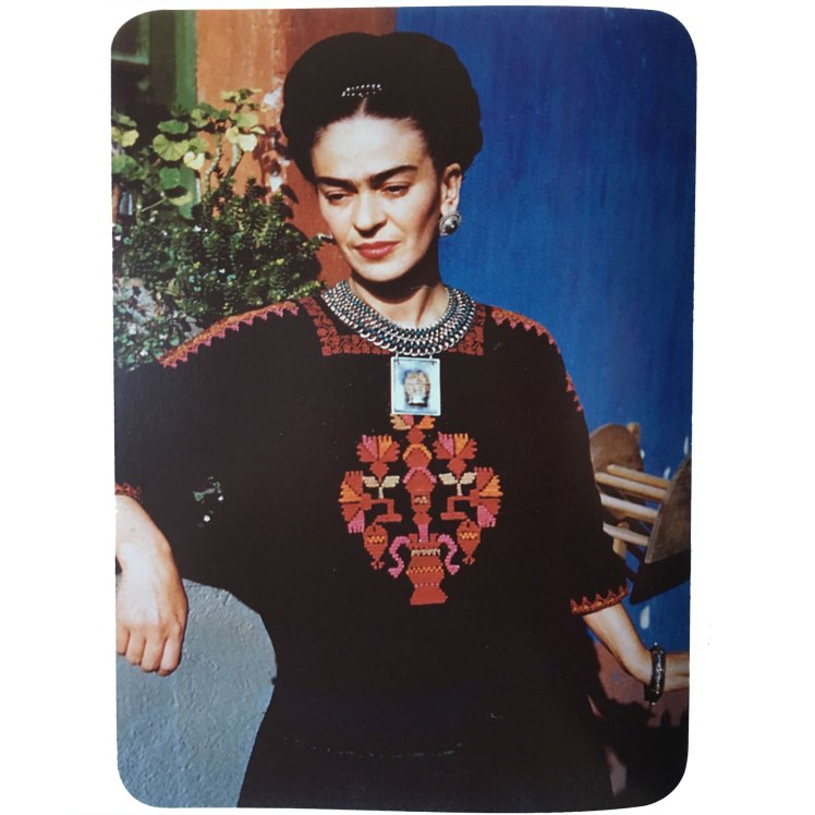 Frida Kahlo, 24 January 1948, photo by Florence Arquin