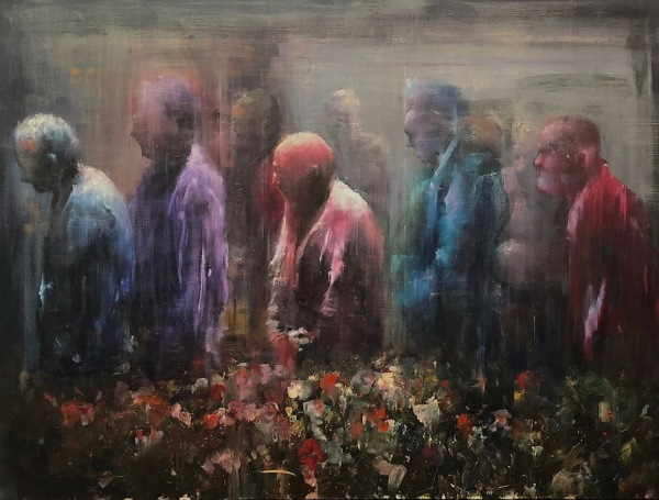 Painting by Alex Merritt