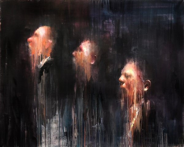 Insomnia, painting by Alex Merritt
