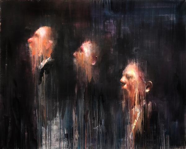 Insomnia, painting by Alex Merritt
