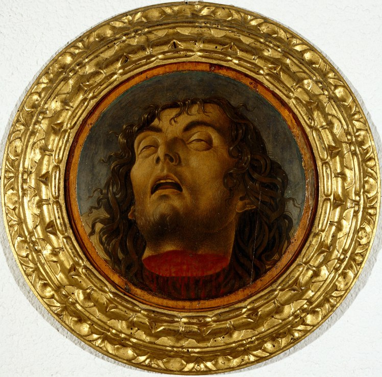 Marco Zoppo The Severed Head of Saint John the Baptist, about 1470, © 2018 Pesaro Musei