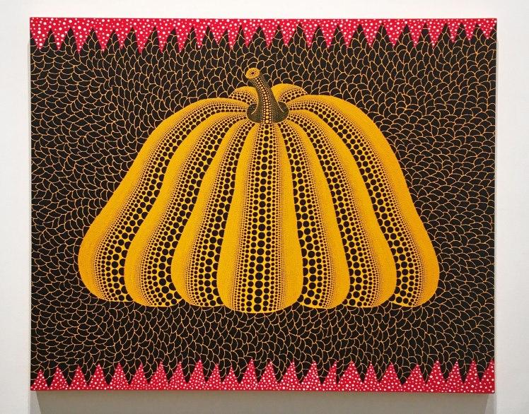 Pumpkins, Yayoi Kusama at Victoria Miro