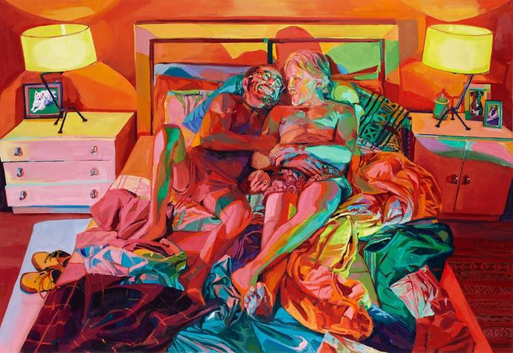 Marriage, oil on canvas, Sarah Stieber