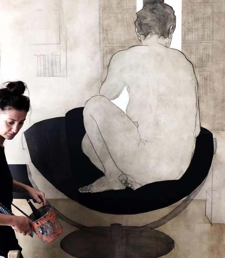 Painting by Nikoleta Sekulovic