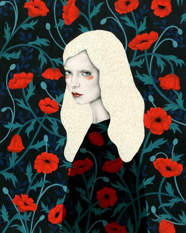 Painting by Sofia Bonati