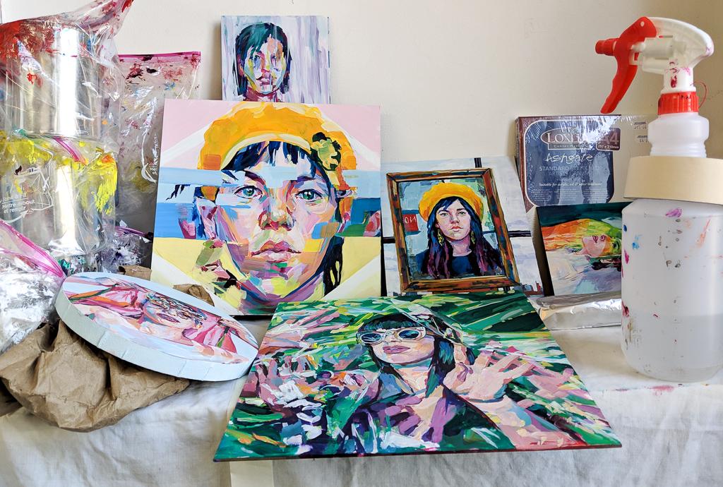 Paintings by Sarah Stieber